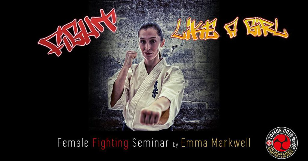 Female Fighting Seminar by Emma Markwell